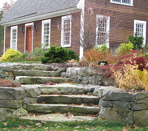 Landscape design by NH landscape architect and planner, Mark Rynearson
